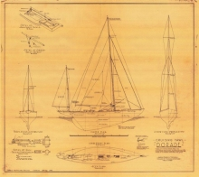 A Toy Dorade - Plans Drawn by John Williams