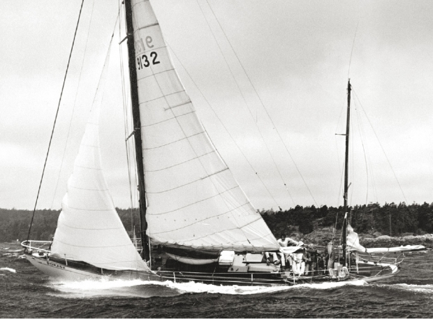 Dorade in the 1979 Swiftsure Race © Roy Montgomery